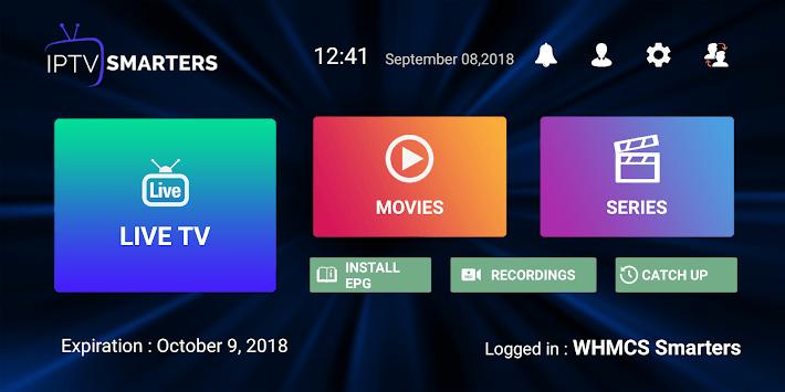 IPTV Smarters Pro APK screenshot 1