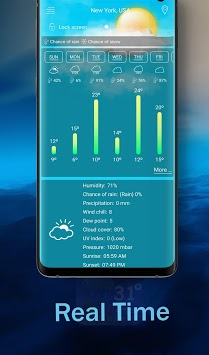 Weather and Radar Live Forecast APK screenshot 1