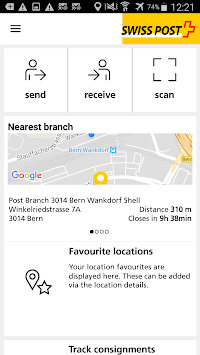 Swiss Post App APK screenshot 1