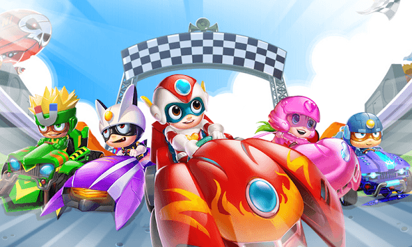 Car Race Kids Game Challenge - Kids Car Race Game APK screenshot 1