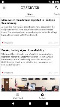 Dunkirk Observer APK screenshot 1
