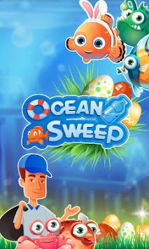 Ocean Sweep: A Fun Match 3 Game for Ocean Cleanup. APK screenshot 1