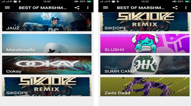 TOP OFFLINE SONG DJ MARSHMELLO 2018 APK screenshot 1