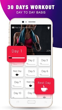 Lose Belly Fat Workout - Burn Belly Fat in 30 Days APK screenshot 1