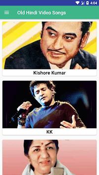 Old Hindi video songs - Purane Gane APK screenshot 1