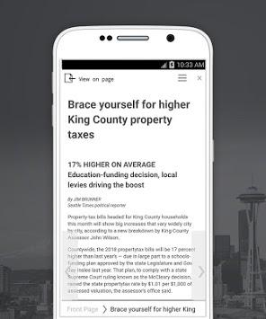 The Seattle Times Print Replica APK screenshot 1