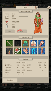 Heroes and Merchants APK screenshot 1