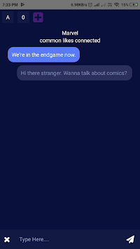 Chat Omega for Omegle APK screenshot 1