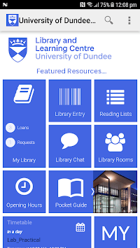 University of Dundee Library pc screenshot 1