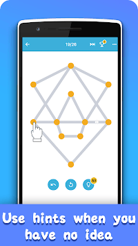 1 Line Drawing: Connect all the Dots APK screenshot 1