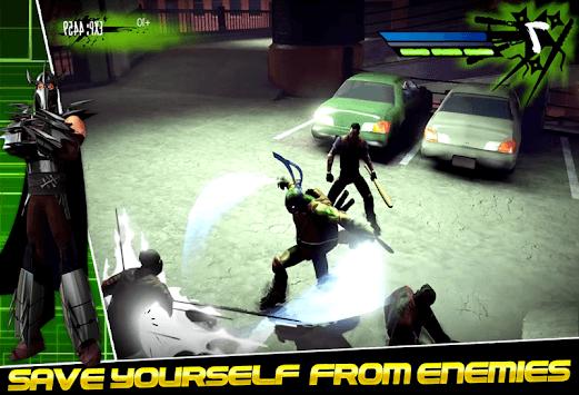 Ninja Shadow Turtle: Superhero City 3D APK screenshot 1