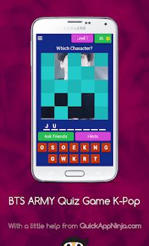 BTS ARMY Quiz Game (K-Pop Idol) APK screenshot 1