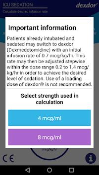 Dexdor Dosing Calculator APK screenshot 1