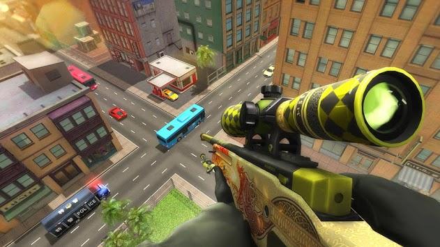 American Sniper 3D: Free Shooting Game 2019 APK screenshot 1