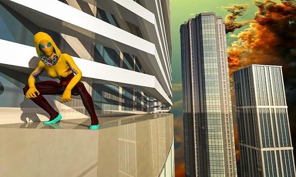 Super Flash Spider Women APK screenshot 1