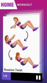 Fat Burning Workout - Belly Fat Workouts for Women APK screenshot 1