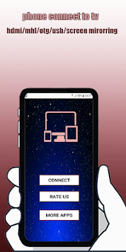 Phone Connector To TV Usb(hdmi/otg/mhl/wifi) APK screenshot 1