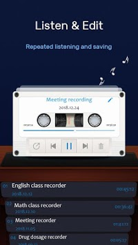 Audio Recorder - Easy Voice Recorder APK screenshot 1