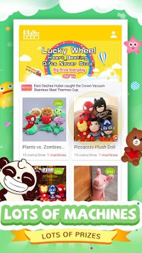 Claw Toys- 1st Real Claw Machine Game APK screenshot 1