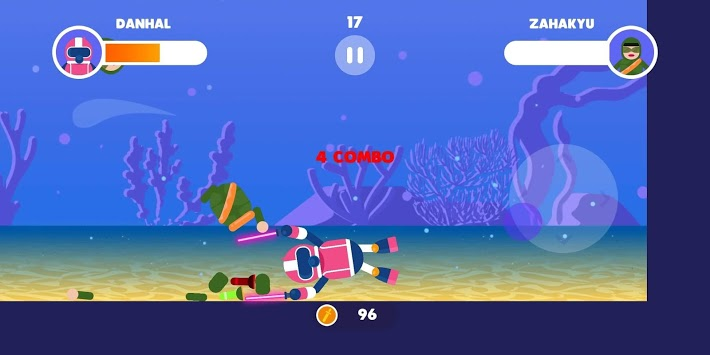Stickman Aquawar APK screenshot 1