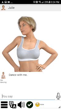My Virtual Dream Girlfriend APK screenshot 1