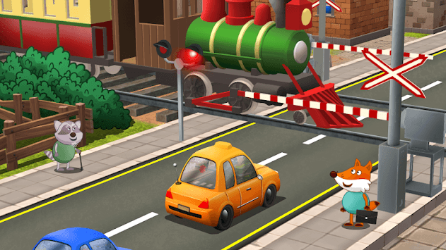 Kids racing. Puppy patrol APK screenshot 1