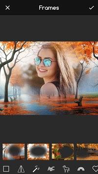 Autumn Frames for Pictures: Fall Wallpaper Maker APK screenshot 1
