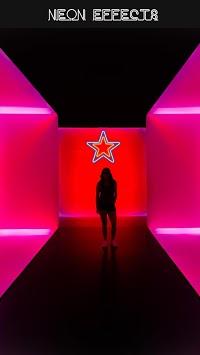 Neon Light Photo Effects APK screenshot 1