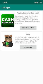 Showcase - Payday loans Apps & Sites Review APK screenshot 1