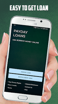 Payday Loans USA - Borrow money online APK screenshot 1