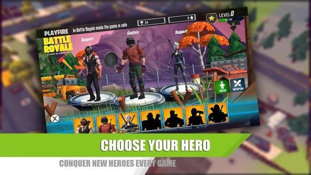 Play Fire Royale - Free Online Shooting Games APK screenshot 1