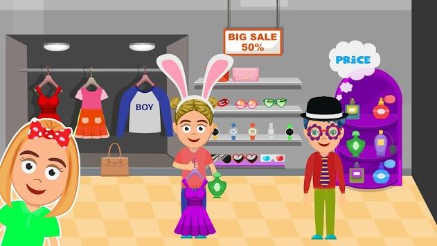 My Shopping Mall Life: Pretend Fun Town Games APK screenshot 1