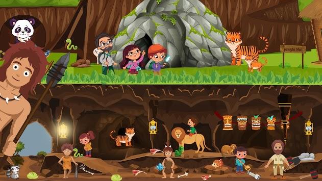 Pretend Forest Life: Explore Wilderness Games APK screenshot 1