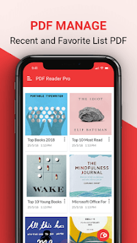 PDF Reader, PDF Viewer and Epub reader free APK screenshot 1
