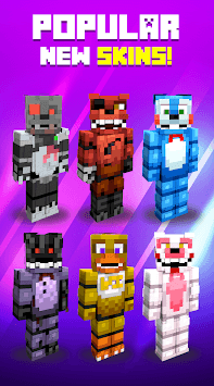 Animatronic Skins APK screenshot 1