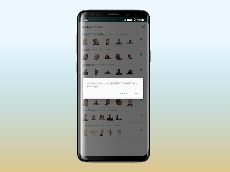 Stickers for WhatsApp APK screenshot 1