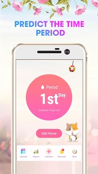 Period Tracker - Calculate Pregnant APK screenshot 1
