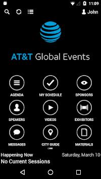 ATT Global Events APK screenshot 1