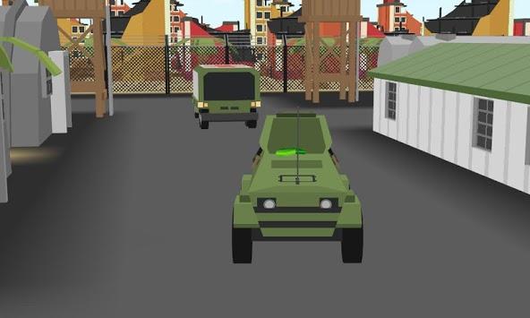 blocky unturned iron army sim APK screenshot 1