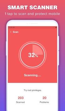 Phone Security Lite & Antivirus APK screenshot 1