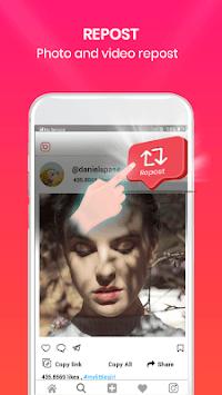 Photo Downloader for Instagram - Video & Photo APK screenshot 1