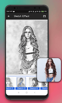Sketch Photo Maker APK screenshot 1