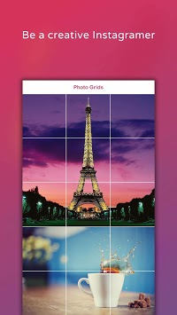 Photo Grids - Crop photos and Image for Instagram APK screenshot 1