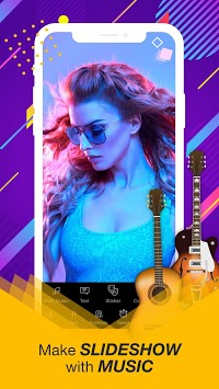 Video Editor Of Photos, Video Recorder With Music APK screenshot 1