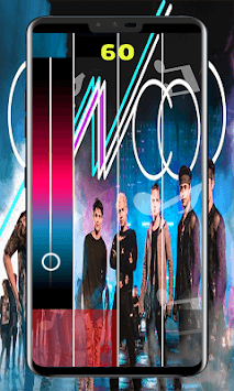 CNCO Piano Tiles APK screenshot 1