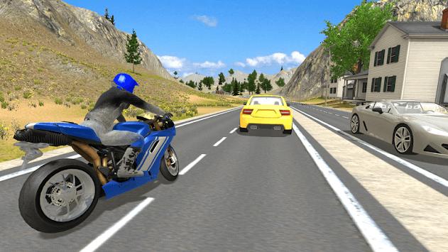 Offroad Bike Driving Simulator APK screenshot 1