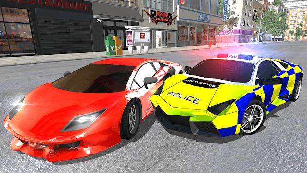 UK Police Car Crime Driving APK screenshot 1