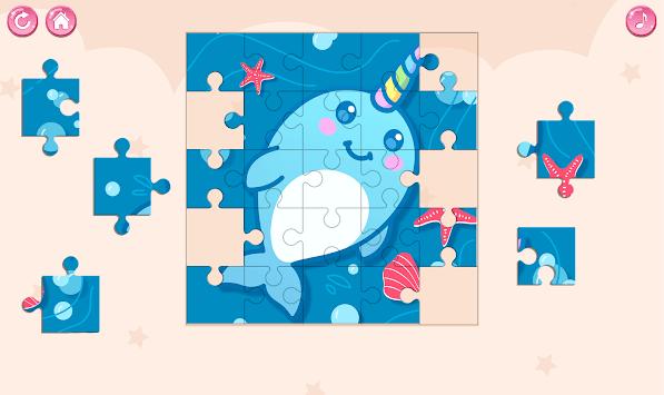 Kawaii Puzzle Game APK screenshot 1