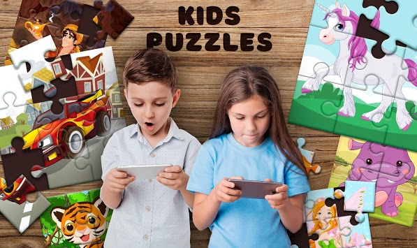 Kids Puzzles APK screenshot 1