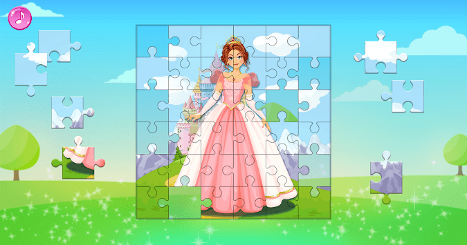 Princess Puzzles for Kids APK screenshot 1